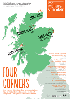 Four Corners poster